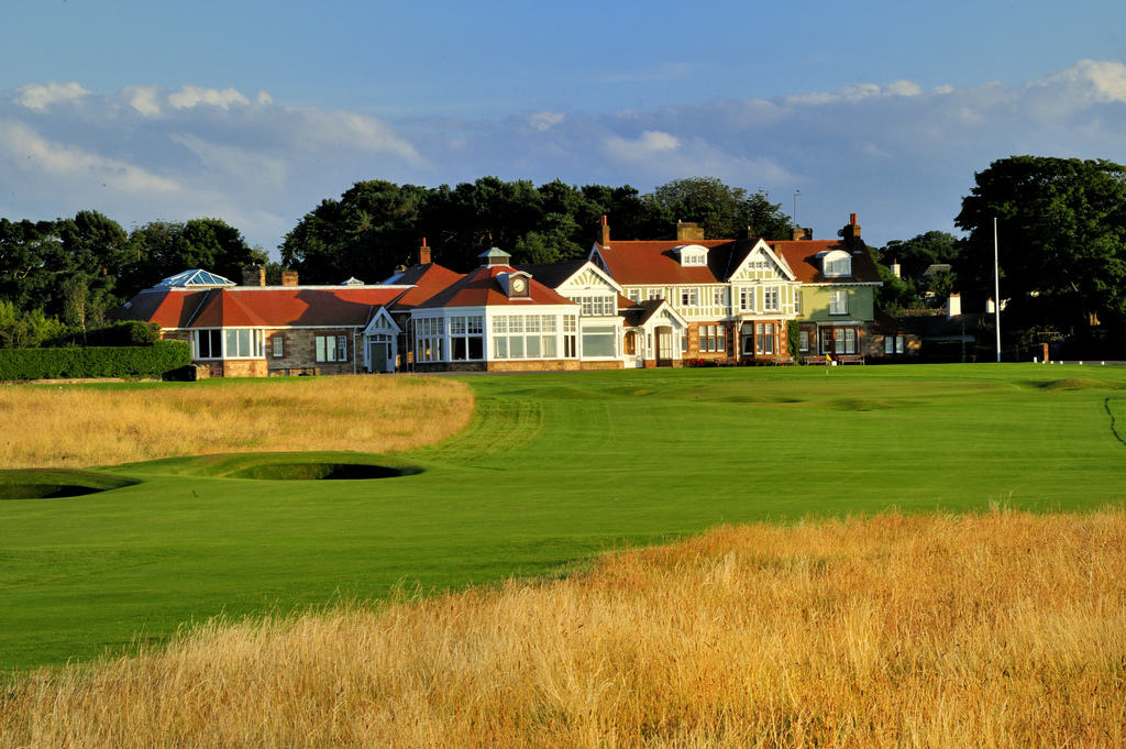 18th at Muirfield (Image credit Golf East Lothian)