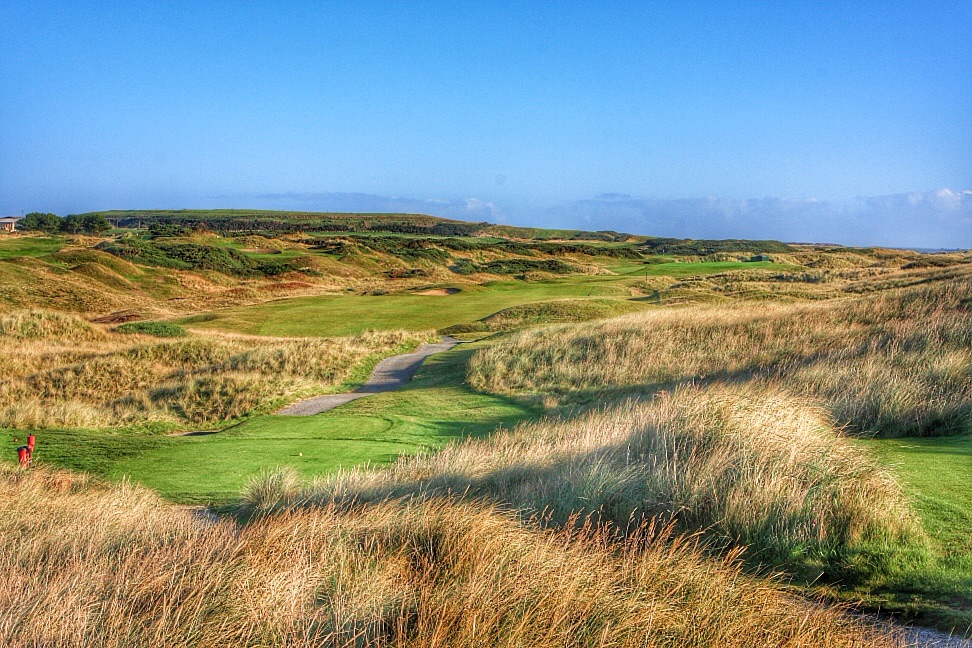 Murcar Golf Links, one of many great links courses in Aberdeen.