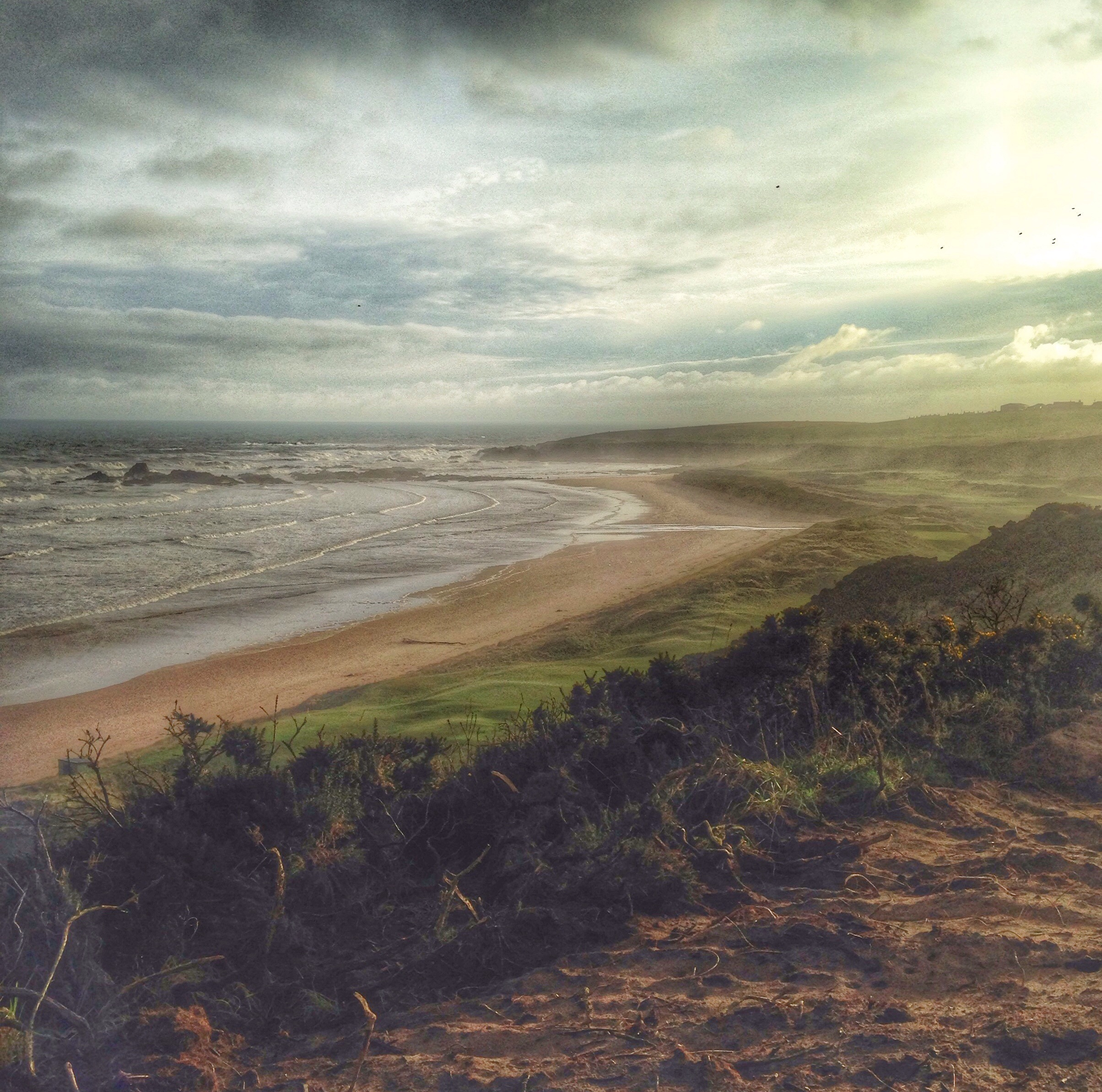 New 9th tee at Cruden Bay Golf Club