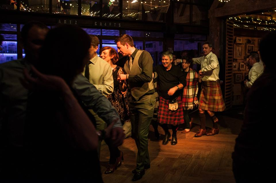 ceilidh dancing from 10.30pm Friday/Saturday's
