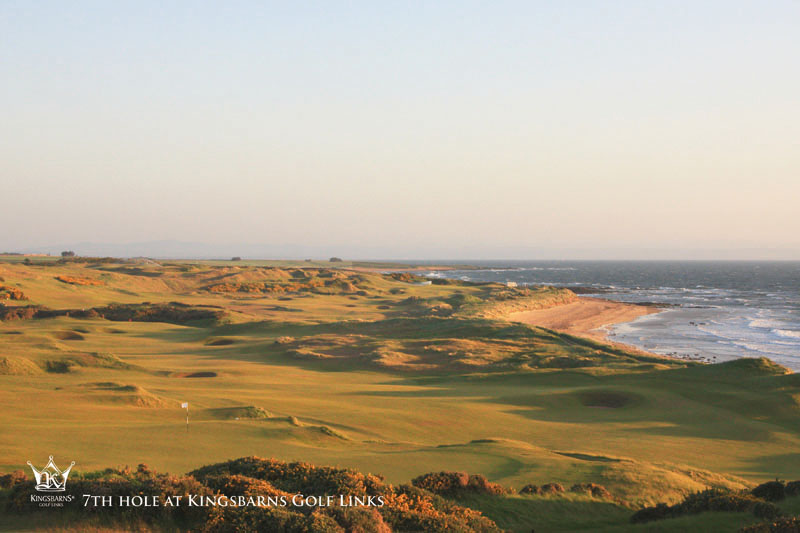Kingsbarns Golf Links minutes from St Andrews