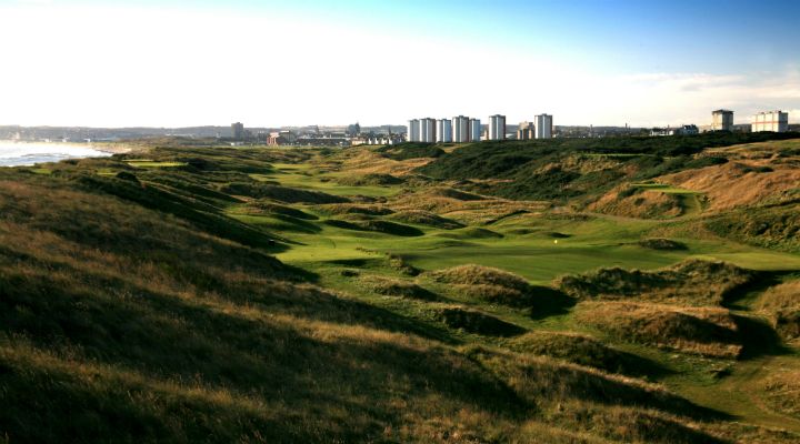 Royal Aberdeen's Front is often said to one of the best in the world. (Image Credit Visit Scotland )