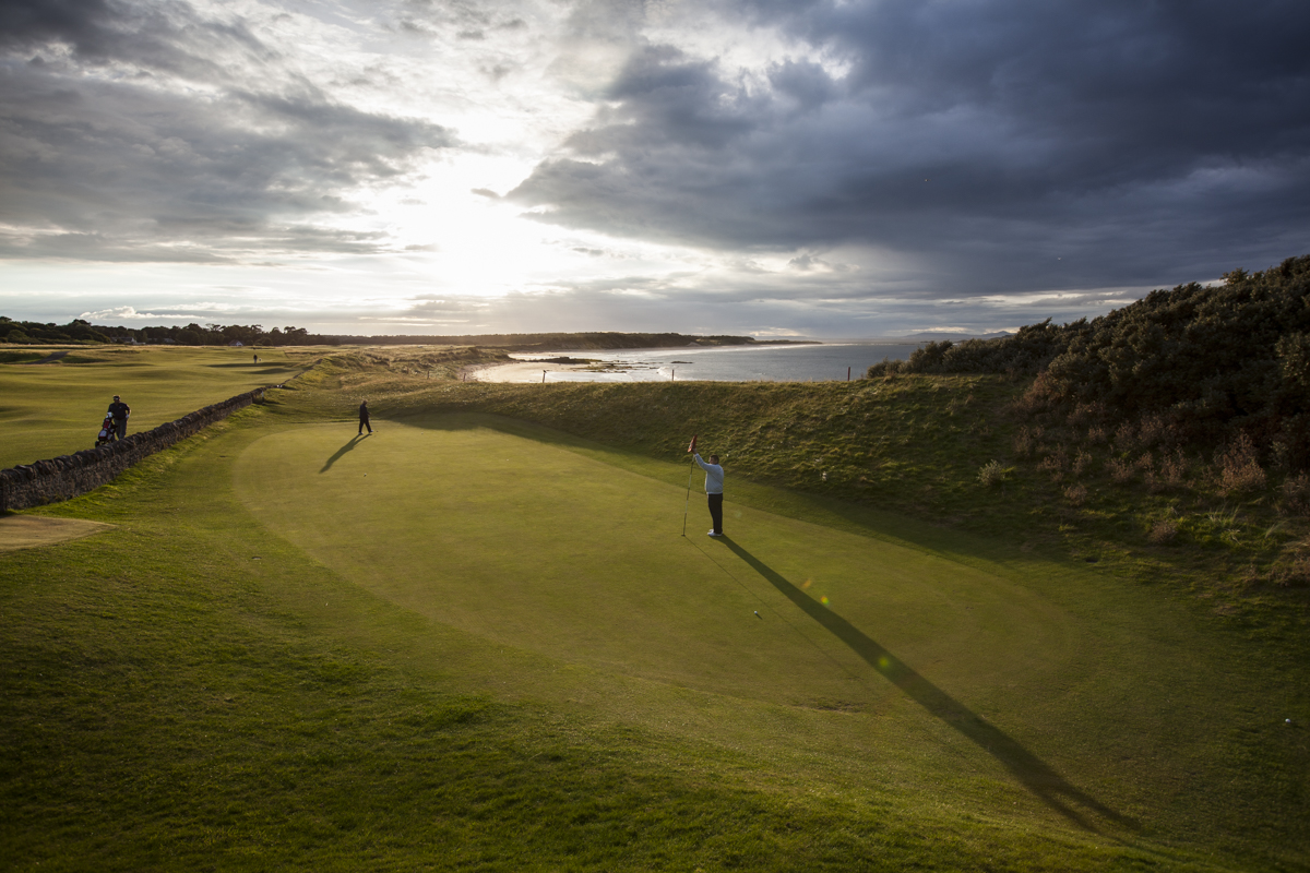 Best Scottish links holes must include the 13th at North Berwick