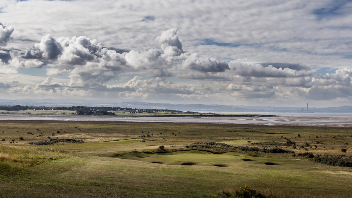 Gullane, host to the 2015 Scottish Open won by Rickie Fowler.