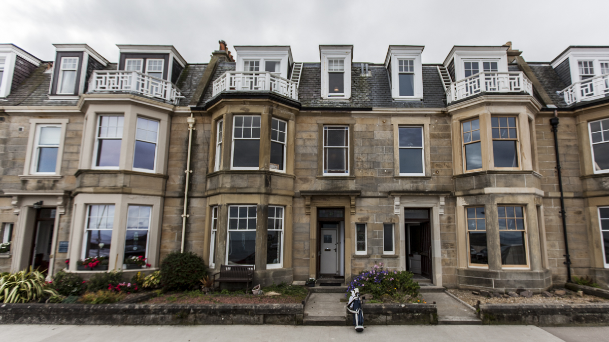 Golf accommodation in North Berwick can be found on Airbnb, perfect for buddy trips.