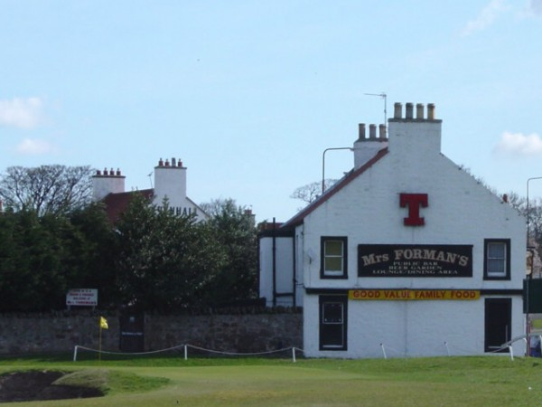 Mrs Forman's at Musselburgh set to close. Image Credit Scottish Golf History