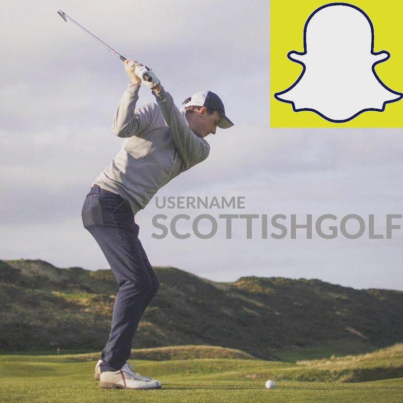Scottish Golf Podcast's Snapchat